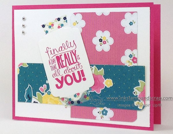 Make a Quick Card with Washi Tape