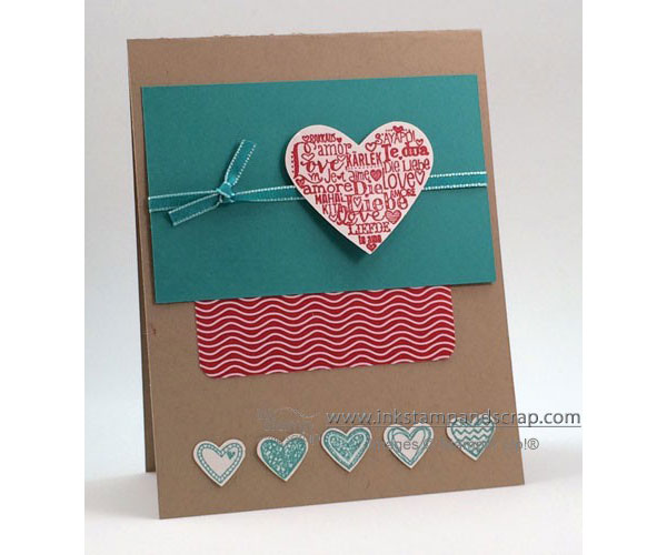 Card Gallery 2014 - Ink Stamp and Scrap