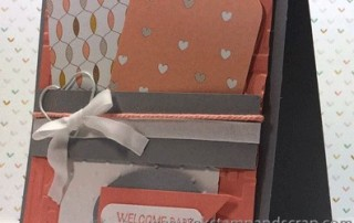 baby, card, stampin up, stampin up punches, die cutting machine