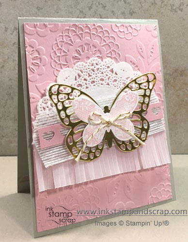 Beautiful Butterfly DIY Greeting Card