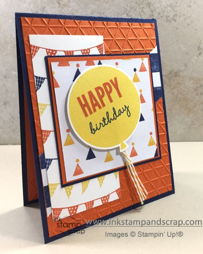 Use Scraps to Make Quick Birthday Card