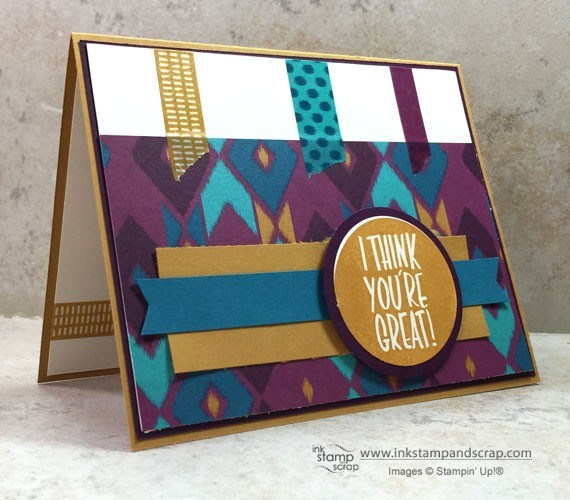 Quick DIY Greeting Card with Sneak Peek Products