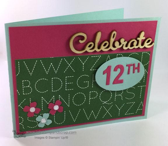 DIY Greeting Card to Celebrate Senior Year