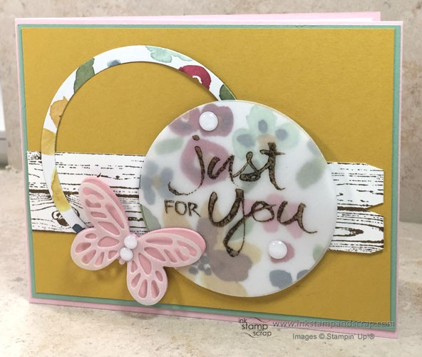 Hardwood Picket Fence DIY Greeting Card