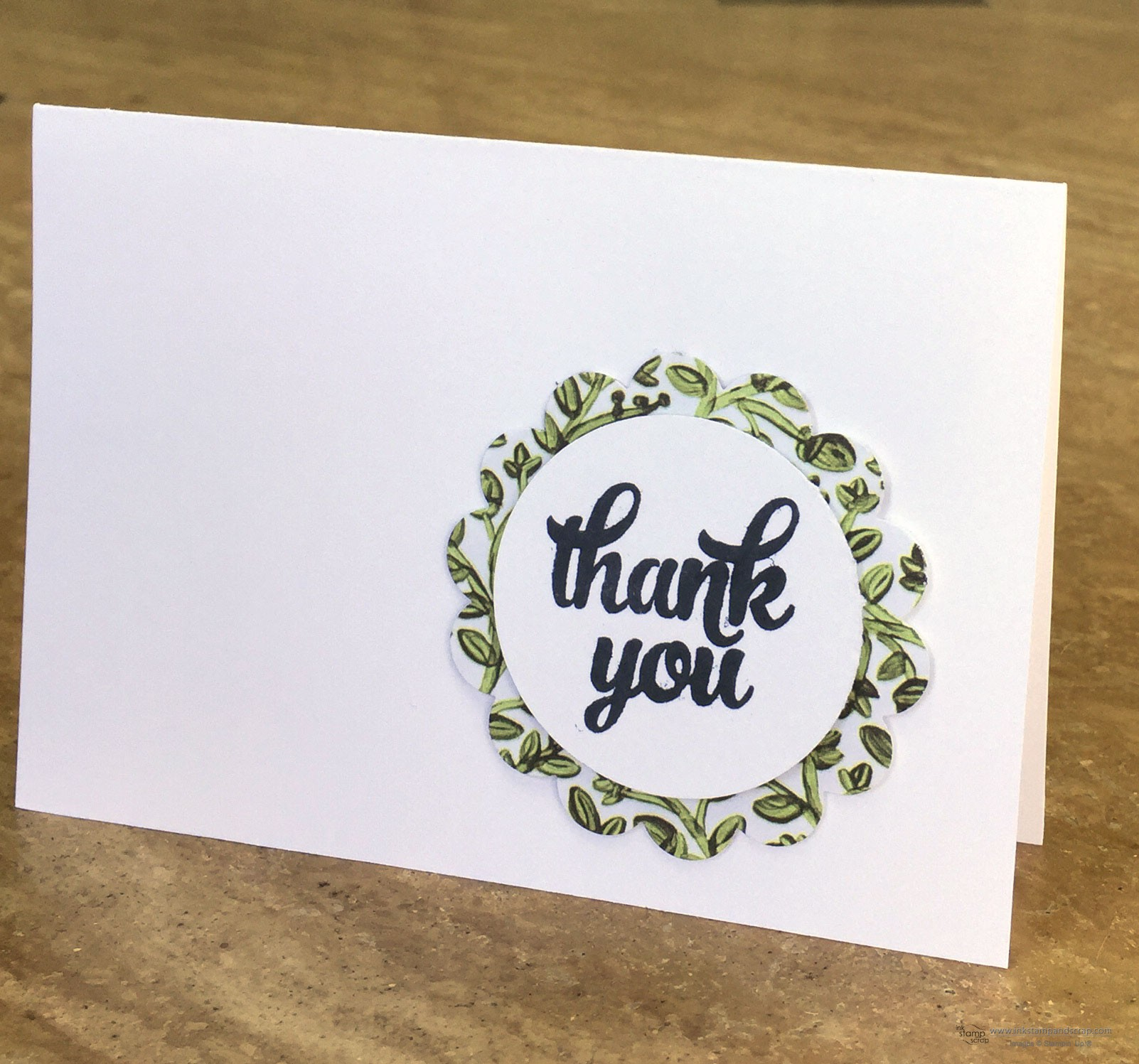 Quick and Easy DIY Thank You Card