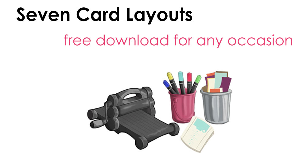 get-free-seven-card-layout