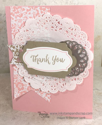 DIY Thank You Greeting Card