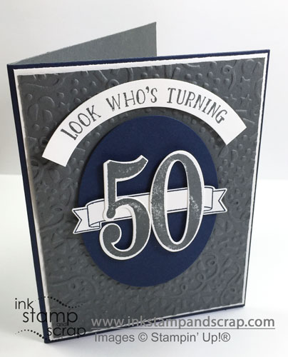 Number of Years Birthday Card