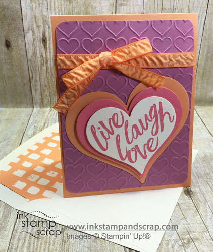 Live Love Laugh DIY Greeting Card