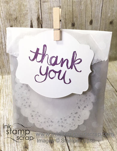 linda bartolucci, ink stamp and scrap, thank you, 3D project