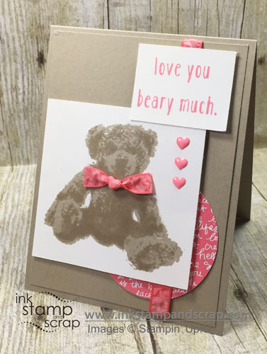 Baby Bear DIY Greeting Card