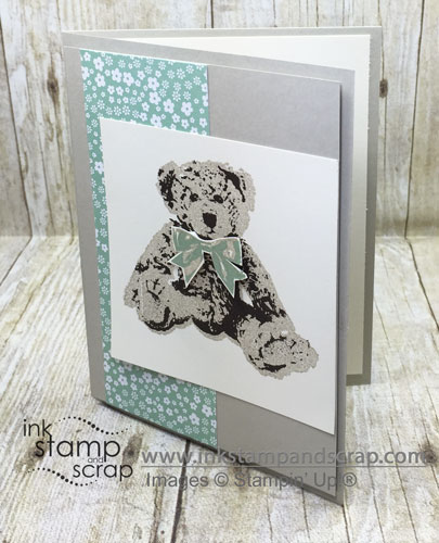 Baby Bear DIY Note Card