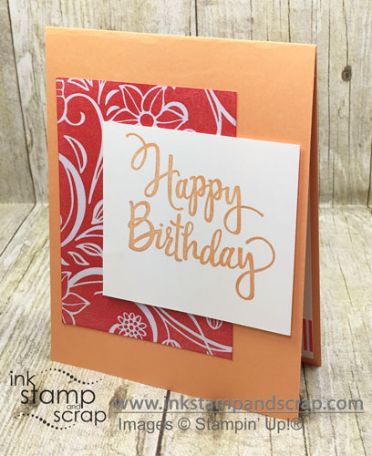 Quick and Easy DIY Birthday Card