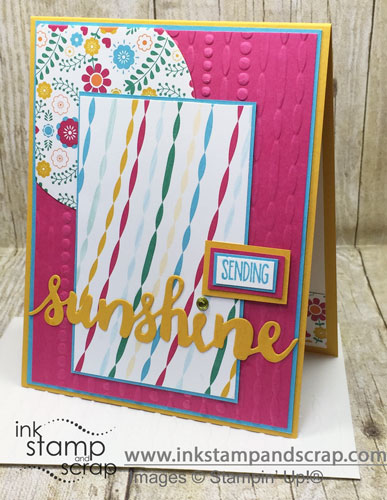 Sending Sunshine DIY Greeting Card