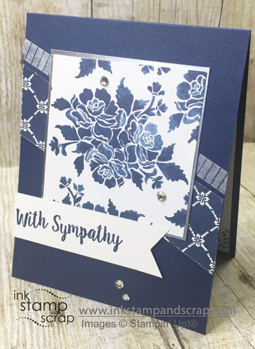 With Sympathy DIY Greeting Card