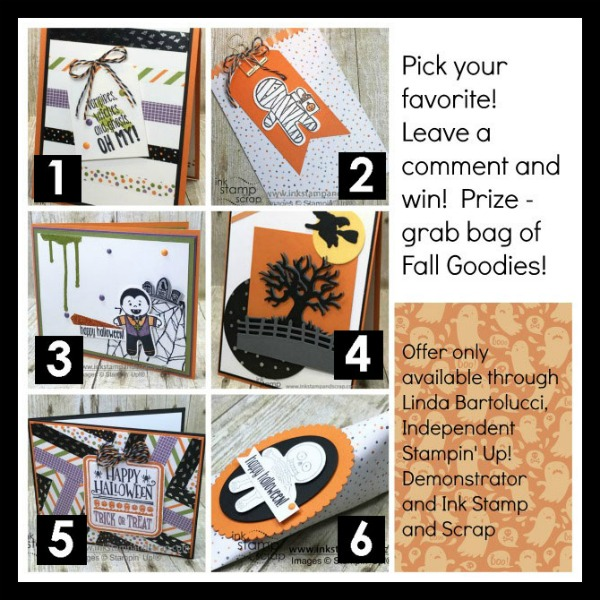 Pick the Halloween Project Winner Blog Candy Giveaway