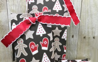 candy cane lane gift bags