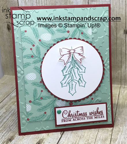 Holly Berry Happiness Christmas Card