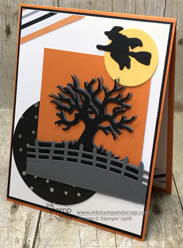 Stampin' Up! Halloween Scenes and MojoMonday