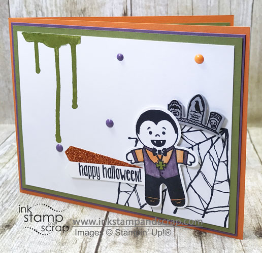Halloween Vampire DIY Greeting Card