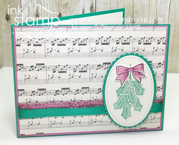 Holly Berry Christmas Card