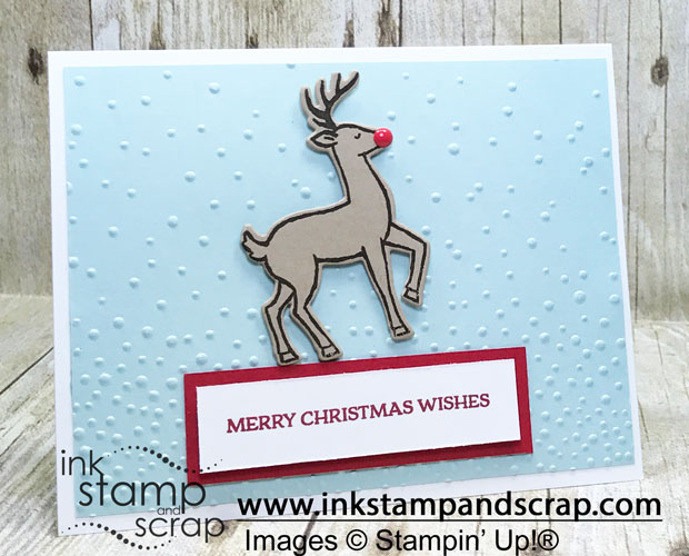 Step Up Christmas Card from Stampin