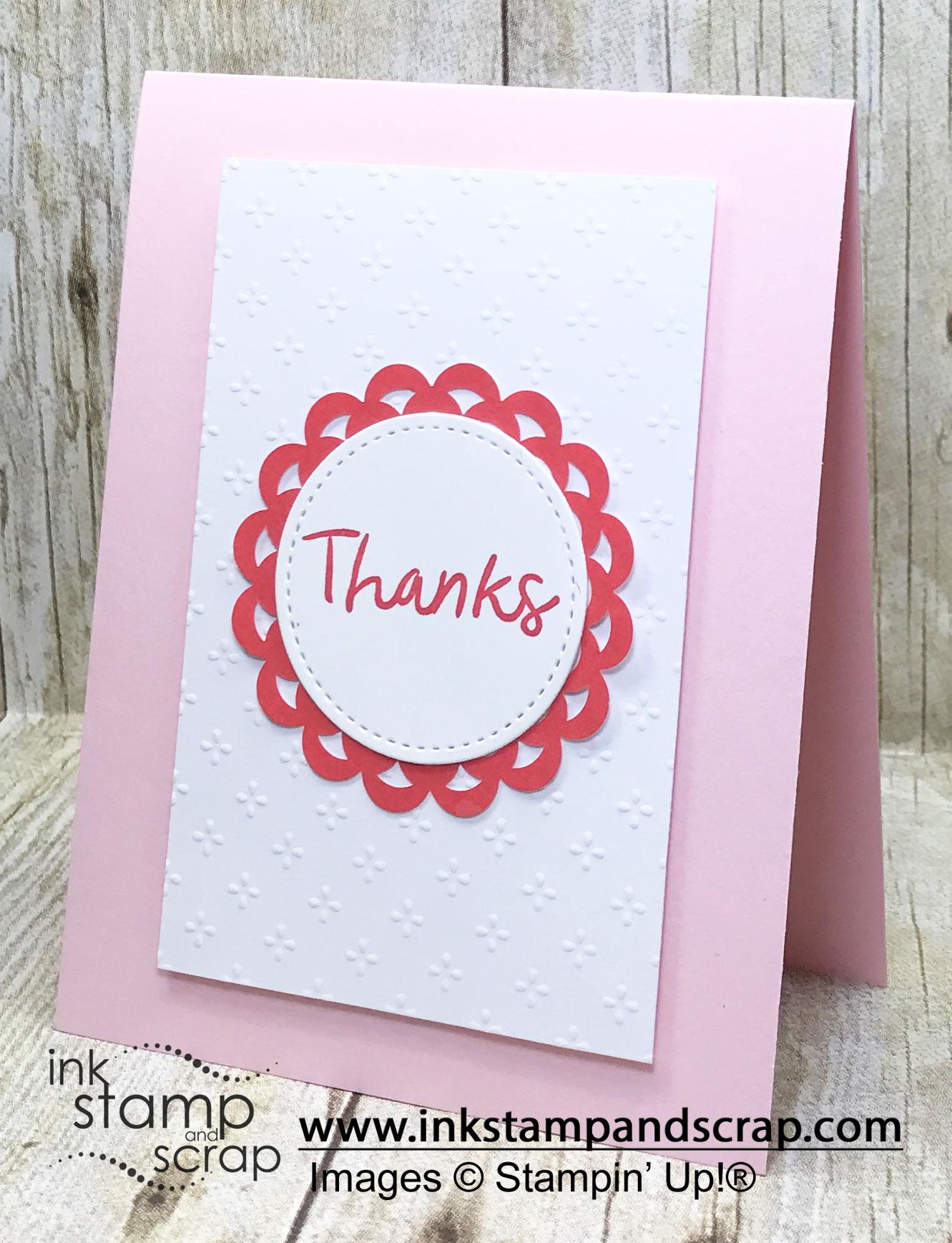 Simple Thank You DIY Greeting Card