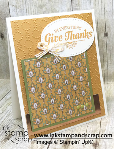 Give Thanks DIY Greeting Card