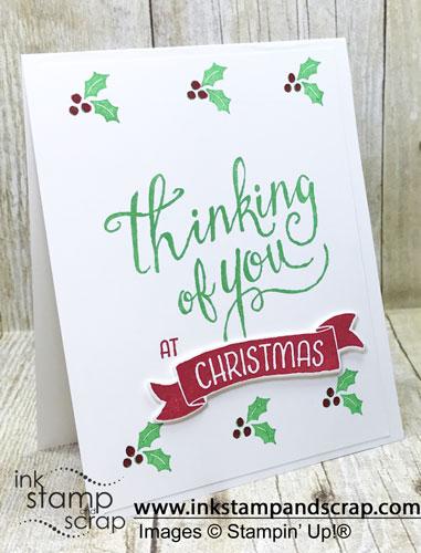 Simple DIY Christmas Card
