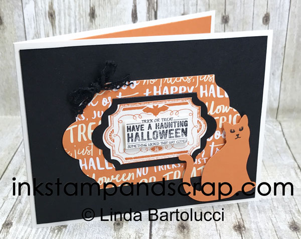 Six Weeks of Halloween – Week One DIY Greeting Card
