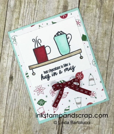stampin blends mug on shelf