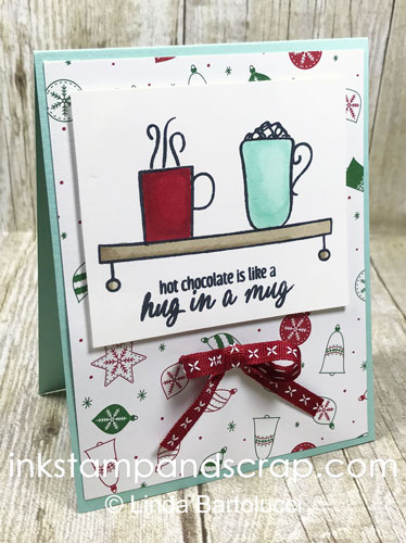 stampin blend mug on the shelf