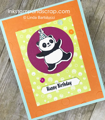 Happy Birthday Party Panda