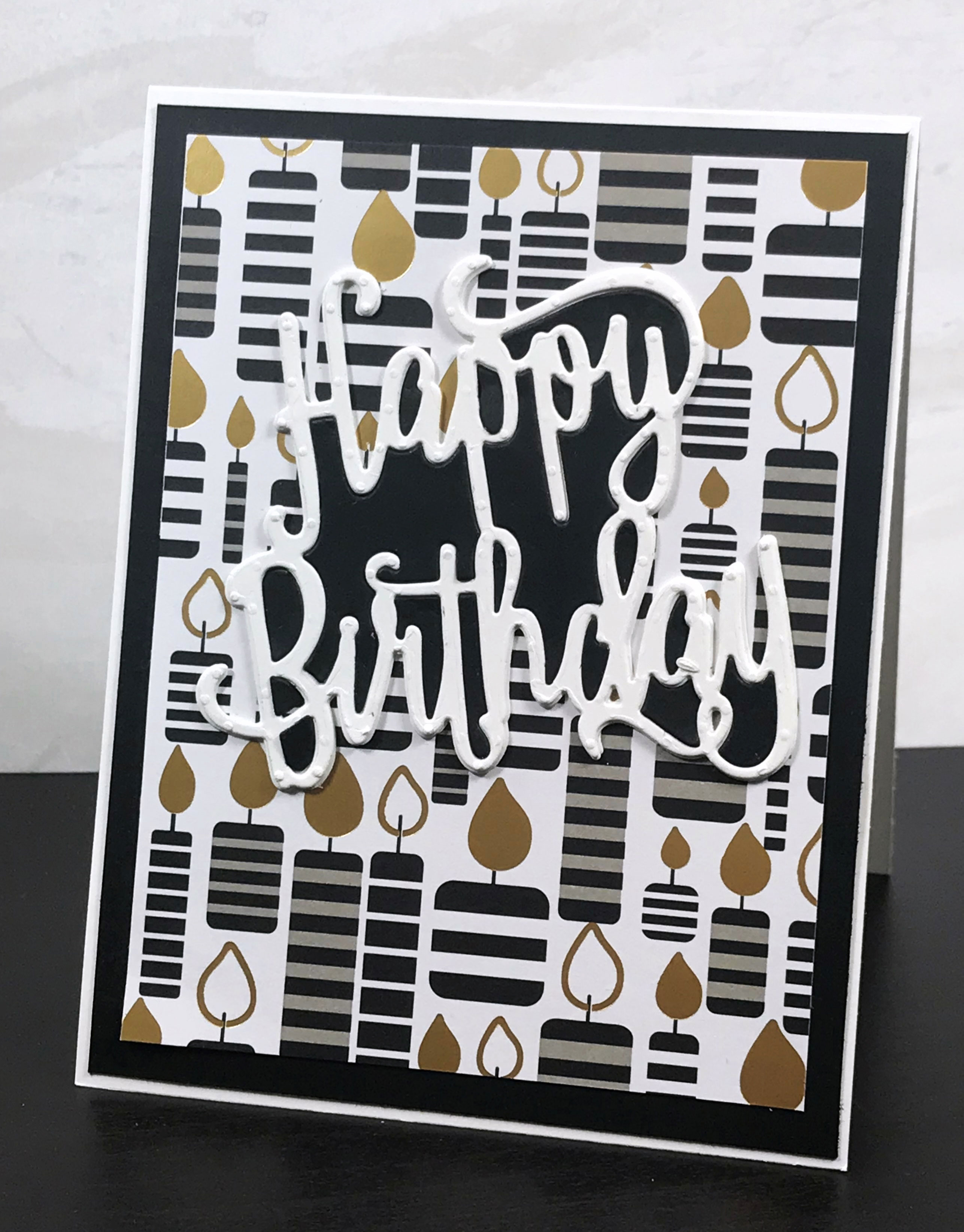 Make a Quick and Easy Happy Birthday Card