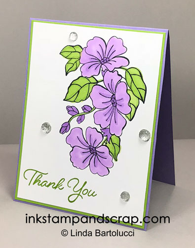 Stampin Blends make coloring easy