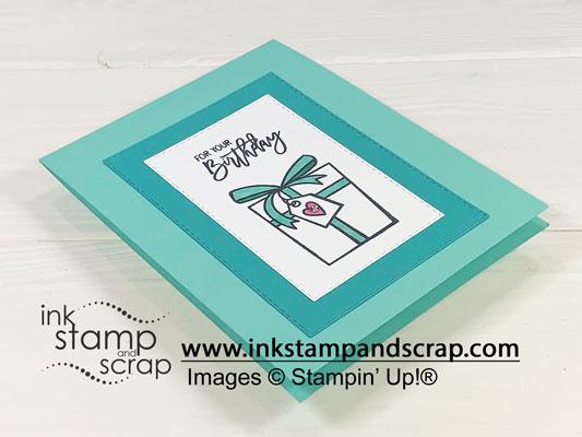 Quick Birthday Cheer Handmade Birthday Card