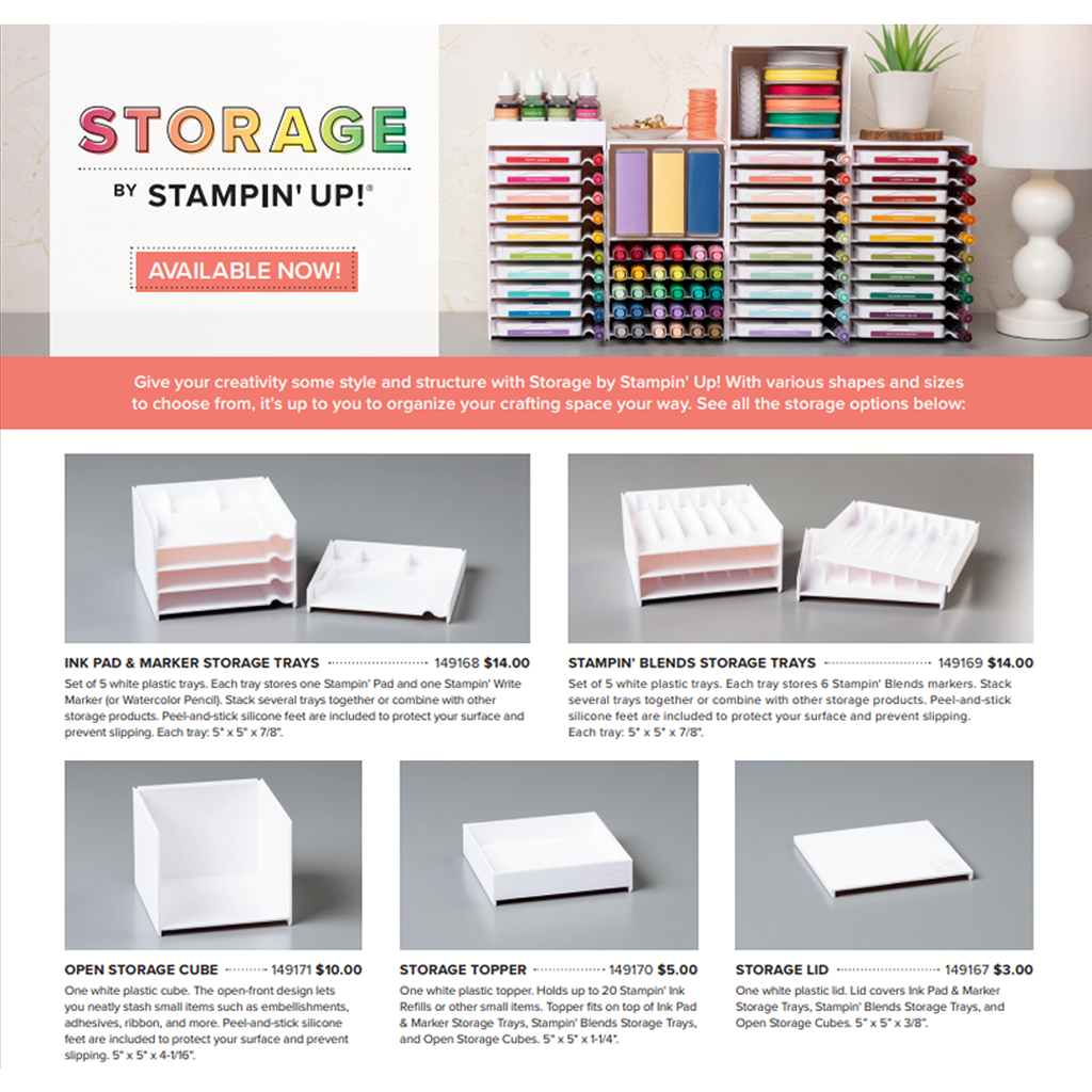 storage from stampin up