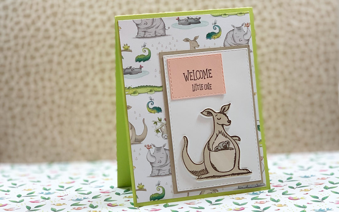 Quick and Easy DIY Baby Card