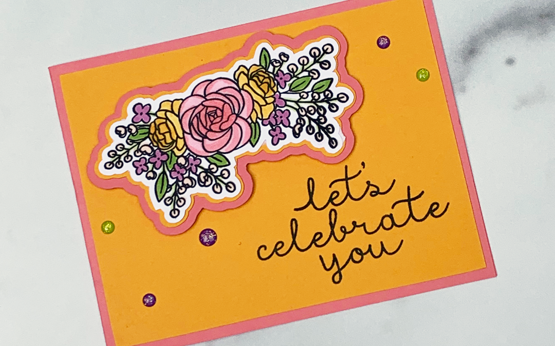 Bright Handmade Celebration Card