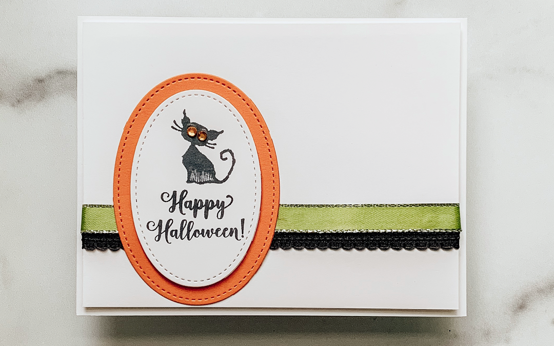 Quick and Easy Halloween Greeting Card