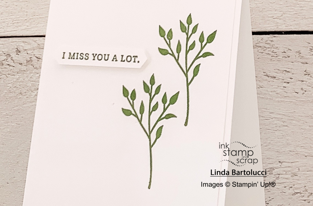 Elegant and Simple Greeting Card with FMS415
