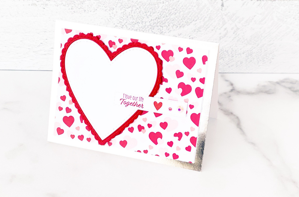 Clean and Simple Valentine Card