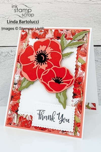 How to Make a Layered Die Thank You Card