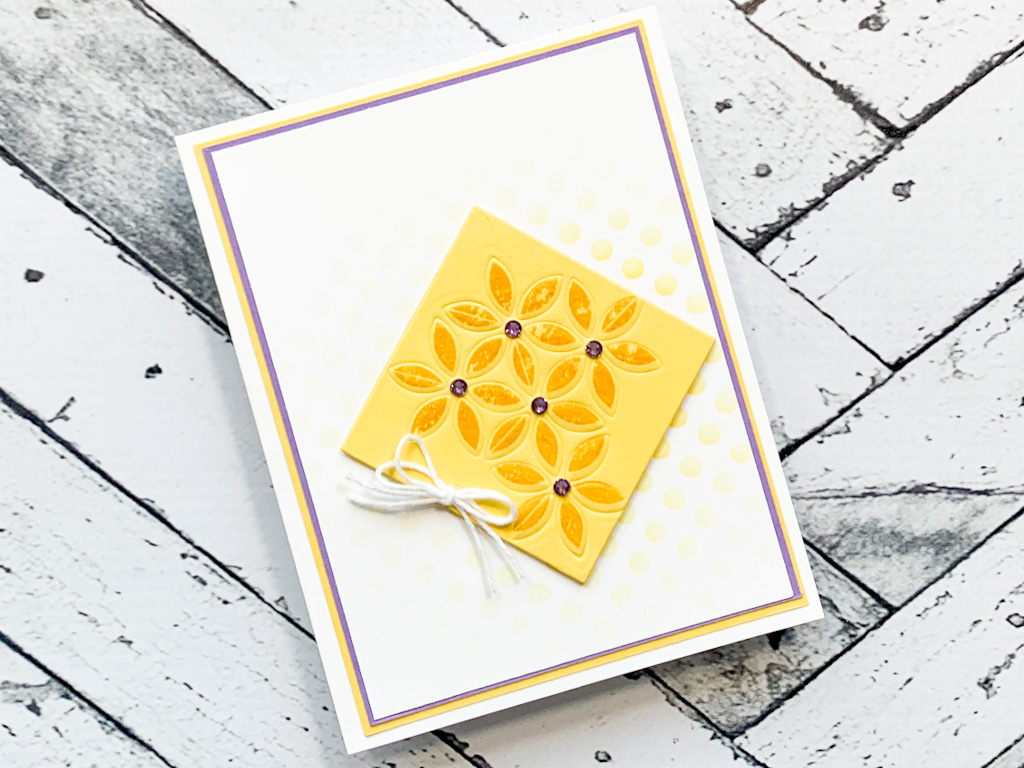 Make a Card with Spring Colors and Texture