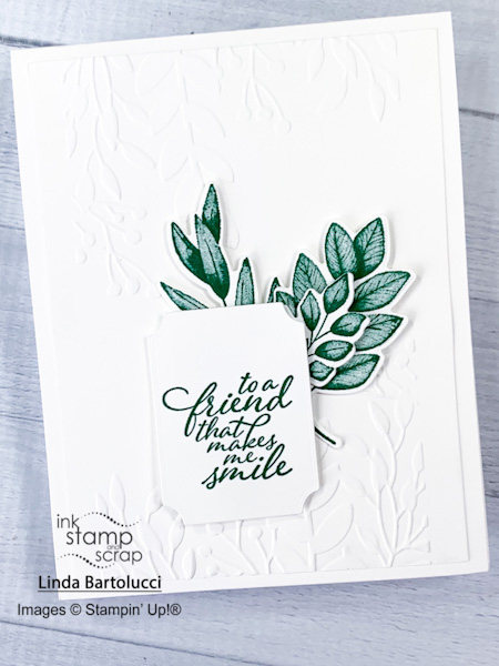 stamp with me forever fern card