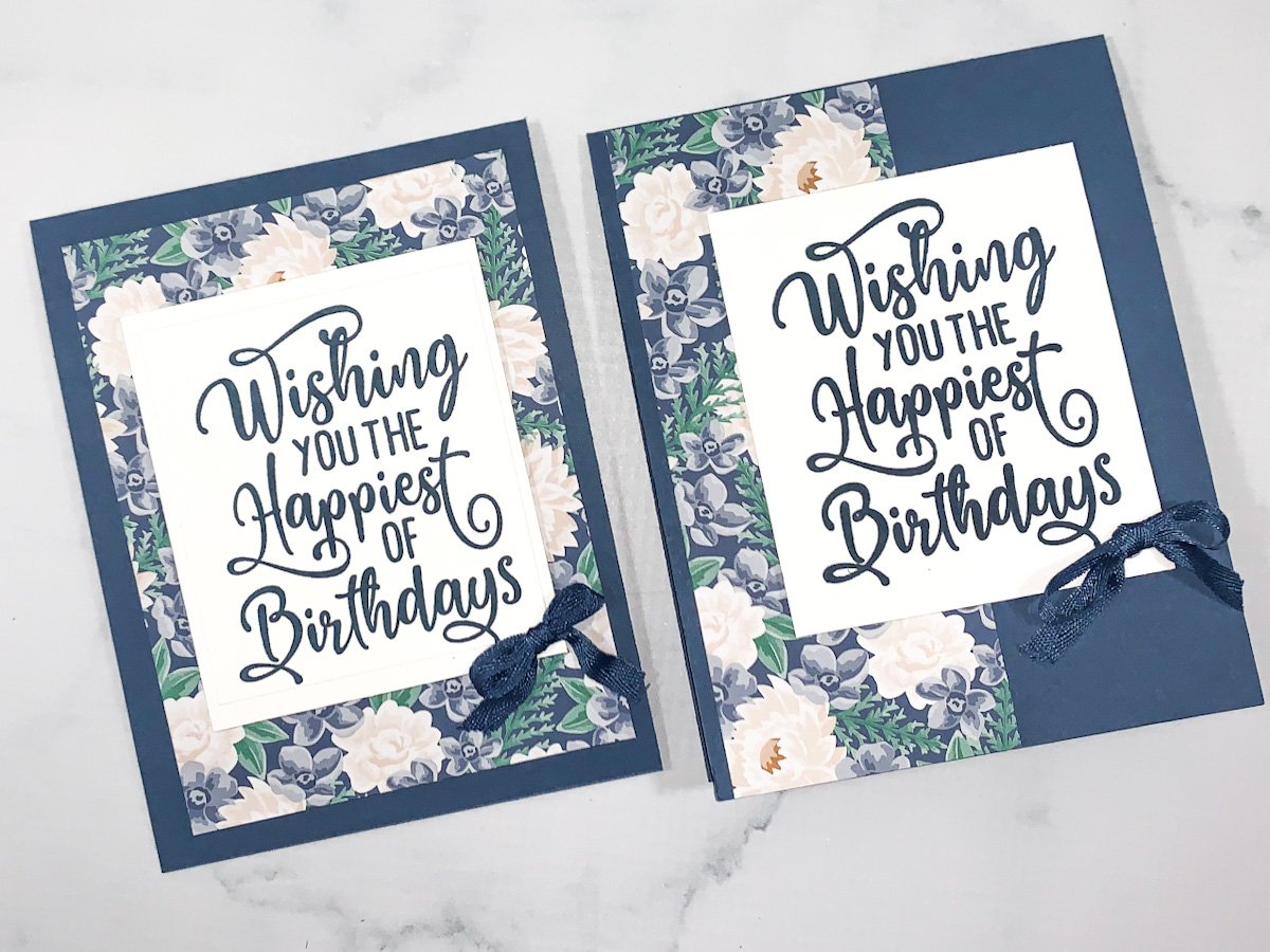 How to Make Two Quick Cards