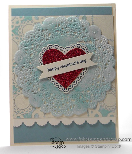 stampin up masculine card valentine
